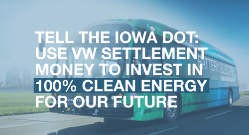 tell the DOT to invest in clean transportation